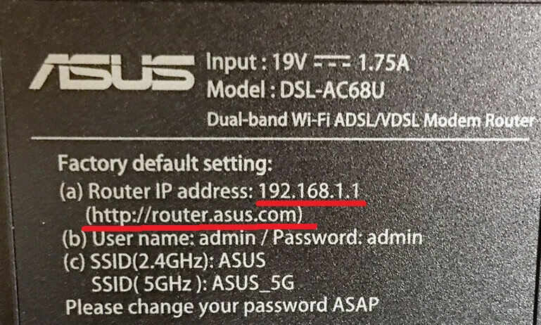 router asus com 192.168.1.1