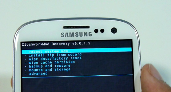 samsung recovery
