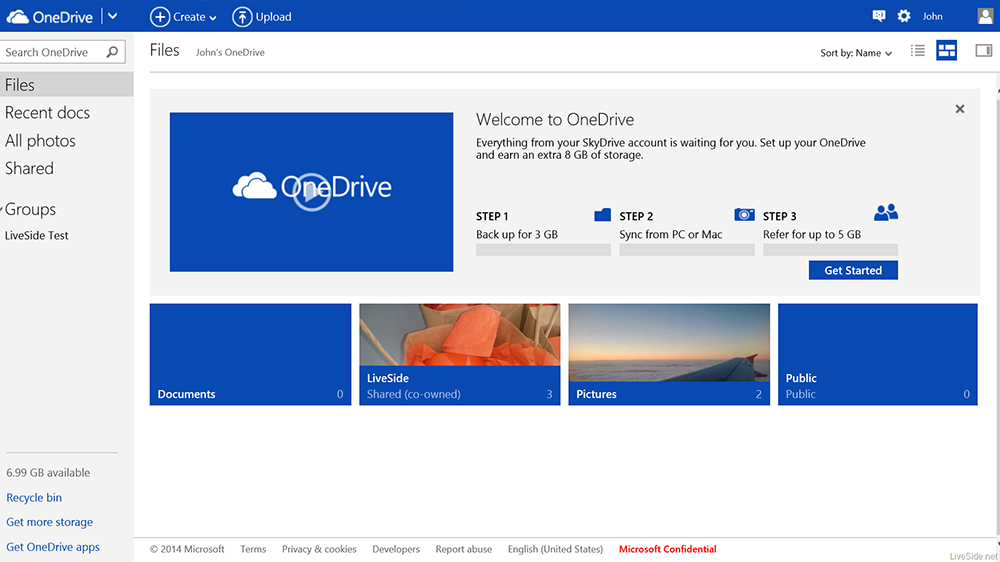 OneDrive в Windows
